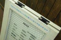 トッピング-tile(上下段1列)×両面 ☆ガラスタイル☆