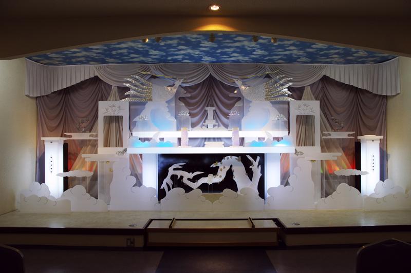 画像1: 葬儀祭壇