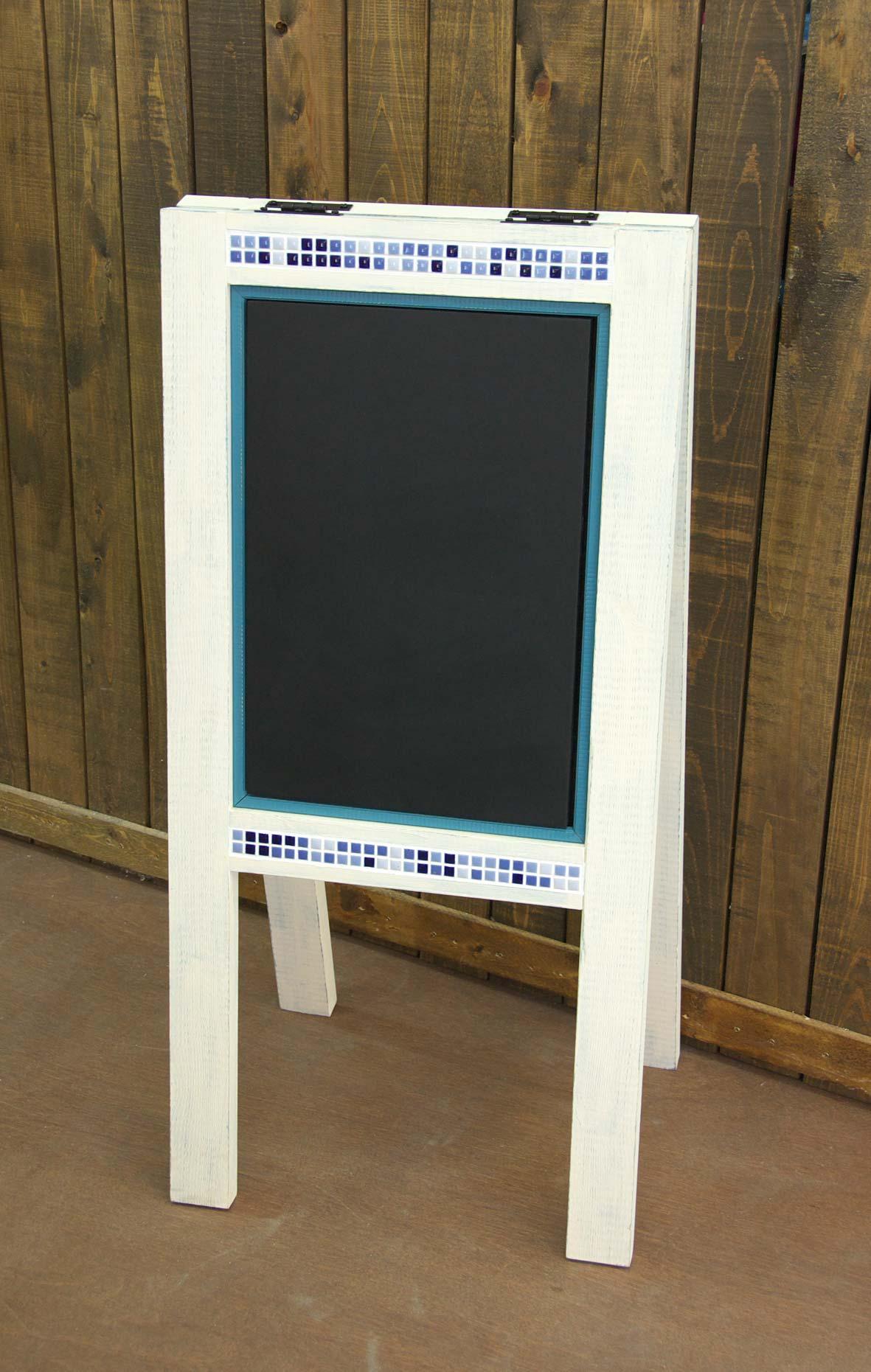 画像1: tile(黒板)-board「両面式」