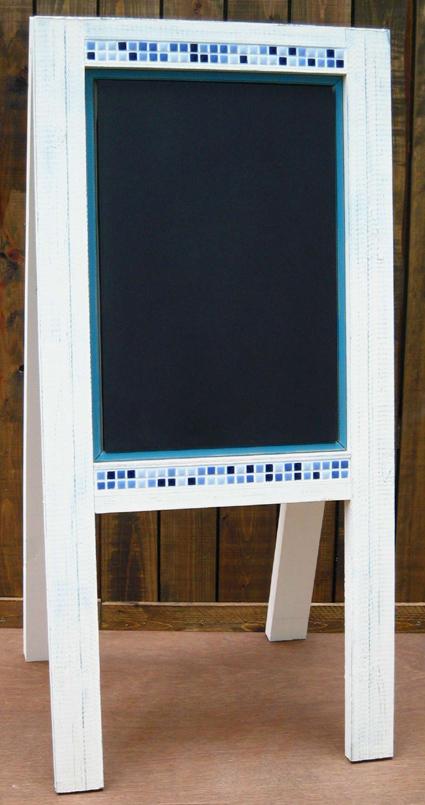 画像1: tile(黒板)-board「片面式」
